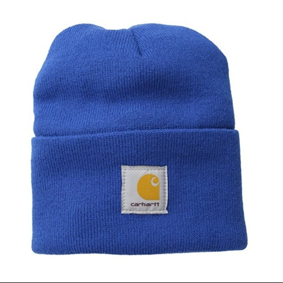 Carhartt Mens Acrylic Watch Hat Cobalt Blue 09ca6b5d9d38